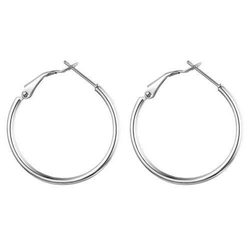 3 pairs stainless steel big round large