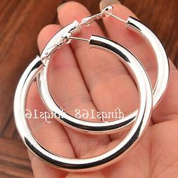 Women's 925 Sterling Silver Classic Hypo-allergenic Tubular